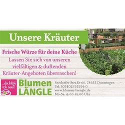 Angebote von Baumärkte und Gartencenter im Blumen Längle Prospekt in Berlin ( 4 Tage übrig )