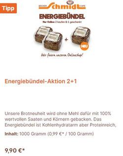 Bäcker Schmidt Coupon in Berlin ( 2 Tage übrig )