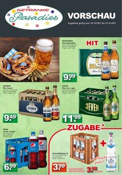 Angebote von Getränkeparadies Gefromm im Getränkeparadies Gefromm Prospekt ( Gestern veröffentlicht)