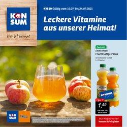 Angebote von KONSUM im KONSUM Prospekt ( Läuft heute ab)