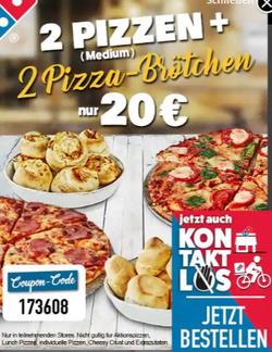 Domino´s Pizza Gutschein ( 2 Tage übrig )