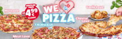 Domino´s Pizza Gutschein ( Mehr als 30 Tage )