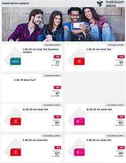 Angebote von Elektromärkte im mobilcom-debitel Prospekt ( 13 Tage übrig )