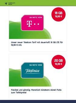 Angebote von Mobilcom-debitel im mobilcom-debitel Prospekt ( 7 Tage übrig)