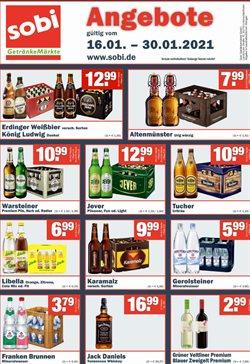 Sobi Getränkemarkt Katalog ( Gestern veröffentlicht )
