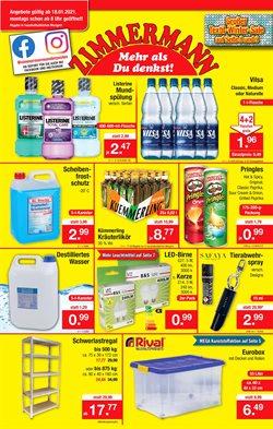 Angebote von Kaufhäuser im Zimmermann Prospekt in Mainz ( Läuft morgen ab )