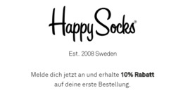 Angebote von Happy Socks im Hamburg Prospekt
