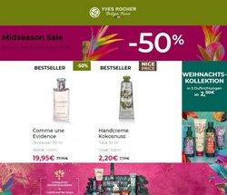 Angebote von Drogerien und Parfümerien im Yves Rocher Prospekt ( Läuft morgen ab)