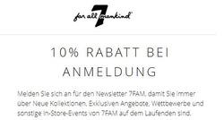 Angebote von 7 For All Mankind im Frankfurt am Main Prospekt