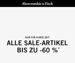 Angebote von Abercrombie & Fitch im Hamburg Prospekt