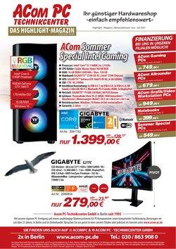 Angebote von Elektromärkte im ACom PC Prospekt ( Mehr als 30 Tage)