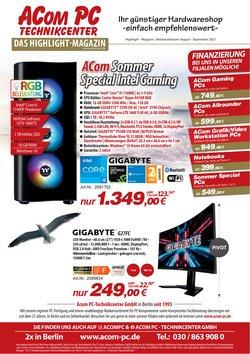 Angebote von Elektromärkte im ACom PC Prospekt ( Gestern veröffentlicht)
