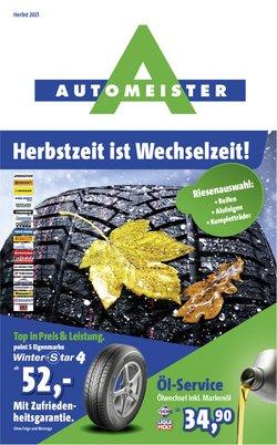 Angebote von Automeister im Automeister Prospekt ( Mehr als 30 Tage)