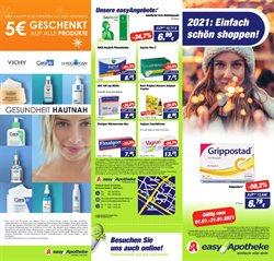 Angebote von Drogerien und Parfümerien im Easy Apotheke Prospekt ( 6 Tage übrig )