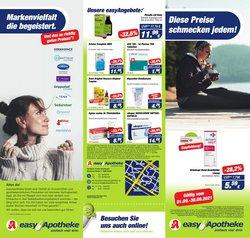 Angebote von Drogerien und Parfümerien im Easy Apotheke Prospekt ( 13 Tage übrig)
