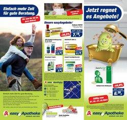 Angebote von Drogerien und Parfümerien im Easy Apotheke Prospekt ( 7 Tage übrig)