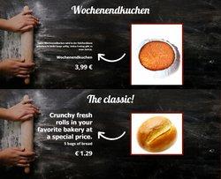 Angebote von Restaurants im Erntebrot Prospekt ( 13 Tage übrig)