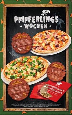 Angebote von Restaurants im Freddy Fresh Pizza Prospekt ( Mehr als 30 Tage)