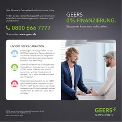 Angebote von Optiker und Hörzentren im GEERS Prospekt ( 7 Tage übrig)