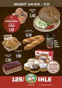 Landbäckerei Ihle Katalog ( Abgelaufen )