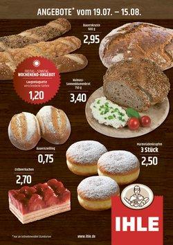 Angebote von Restaurants im Landbäckerei Ihle Prospekt ( 14 Tage übrig)
