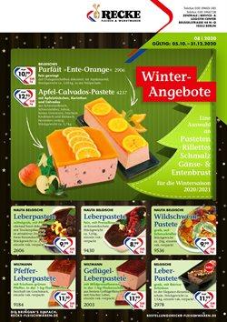 Recke Fleischwaren Katalog ( 29 Tage übrig )