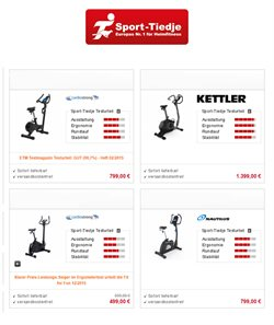 Sport-Tiedje Katalog ( Abgelaufen )