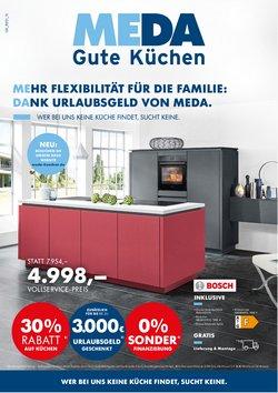 Angebote von MEDA Küchen im MEDA Küchen Prospekt ( 4 Tage übrig)