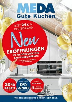 Angebote von MEDA Küchen im MEDA Küchen Prospekt ( 11 Tage übrig)