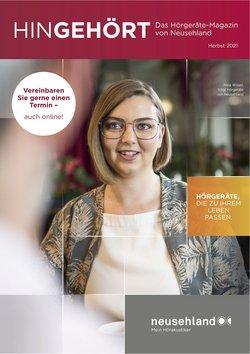 Angebote von Optiker und Hörzentren im Neusehland Prospekt ( Mehr als 30 Tage)