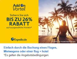 Angebote von Expedia im Berlin Prospekt