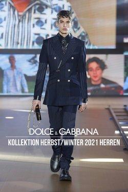Angebote von Dolce & Gabbana im Dolce & Gabbana Prospekt ( 18 Tage übrig)