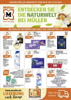 Angebote von Drogerien und Parfümerien im Müller Prospekt ( 3 Tage übrig)