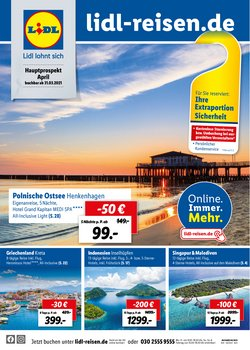 Angebote von Reisen und Freizeit im Lidl Prospekt ( 26 Tage übrig )