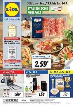 Angebote von Supermärkte im Lidl Prospekt ( Läuft heute ab)
