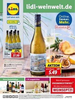 Angebote von Supermärkte im Lidl Prospekt ( 13 Tage übrig)
