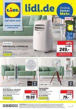 Angebote von Supermärkte im Lidl Prospekt ( 2 Tage übrig)