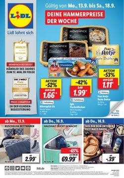 Angebote von Supermärkte im Lidl Prospekt ( Läuft morgen ab)