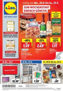 Angebote von Supermärkte im Lidl Prospekt ( Neu)
