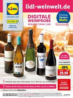 Angebote von Supermärkte im Lidl Prospekt ( 3 Tage übrig)