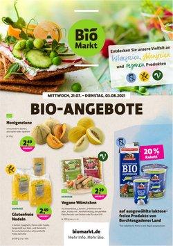 Angebote von Supermärkte im BioMarkt Prospekt ( 10 Tage übrig)