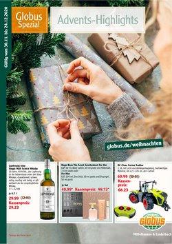 Globus Katalog ( Gestern veröffentlicht )