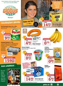 Angebote von Supermärkte im Globus Prospekt ( Gestern veröffentlicht)