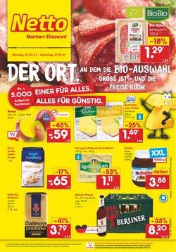 Angebote von Discounter im Netto Marken-Discount Prospekt in Berlin ( Läuft heute ab )
