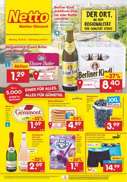 Angebote von Discounter im Netto Marken-Discount Prospekt ( Läuft morgen ab )