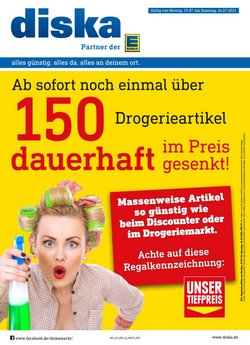 Angebote von Diska im diska Prospekt ( Läuft heute ab)