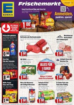 Angebote von Edeka Frischemarkt im Edeka Frischemarkt Prospekt ( Gestern veröffentlicht)