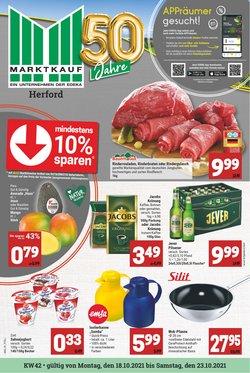Angebote von Supermärkte im Marktkauf Prospekt ( Gestern veröffentlicht)