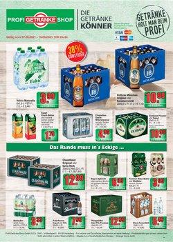 Angebote von Profi Getränke im Profi Getränke Prospekt ( 4 Tage übrig)