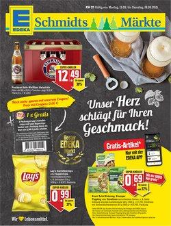 Angebote von Schmidt's Märkte im Schmidt's Märkte Prospekt ( Läuft morgen ab)